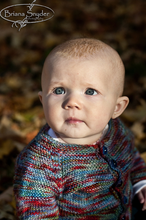 cute fall baby picture