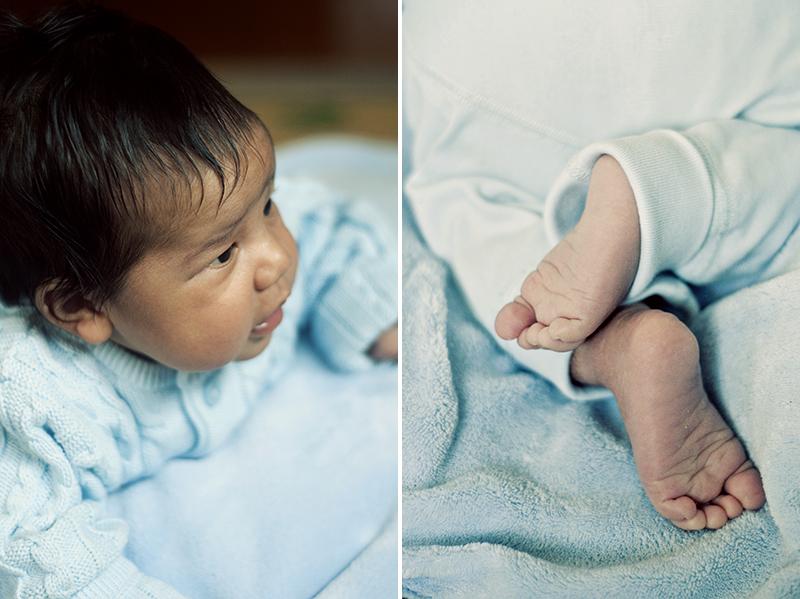 cute baby toes