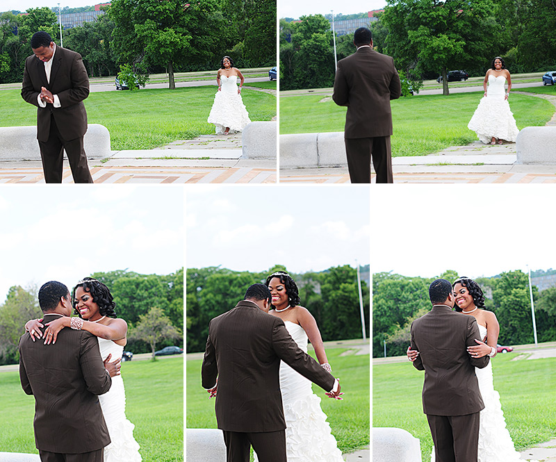 carillon park wedding first look