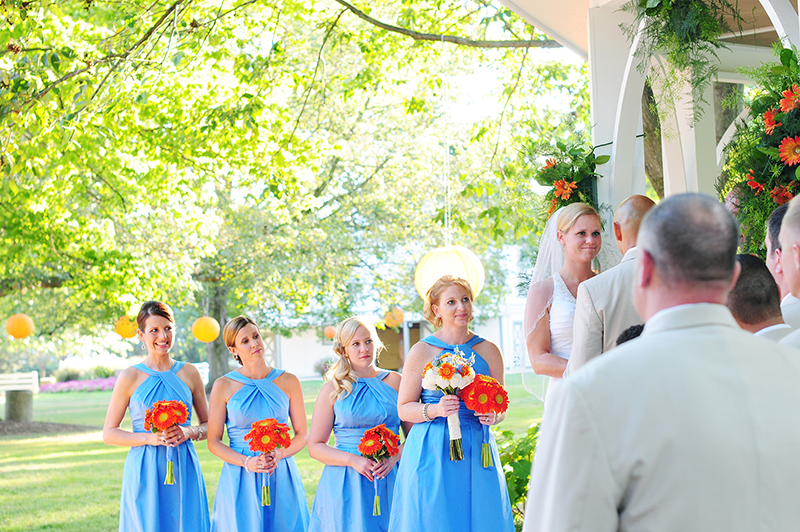 wedding at polen farms in kettering
