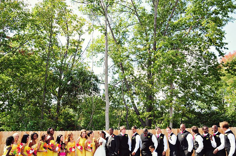 dayton bridal party