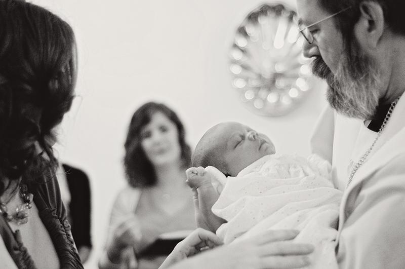 baby being baptized in Dayton Ohio
