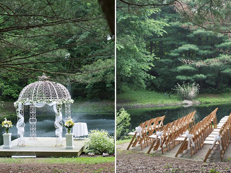 secret garden wedding in waynesville