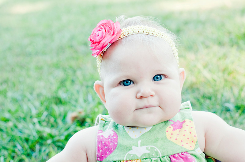 cute dayton baby photography