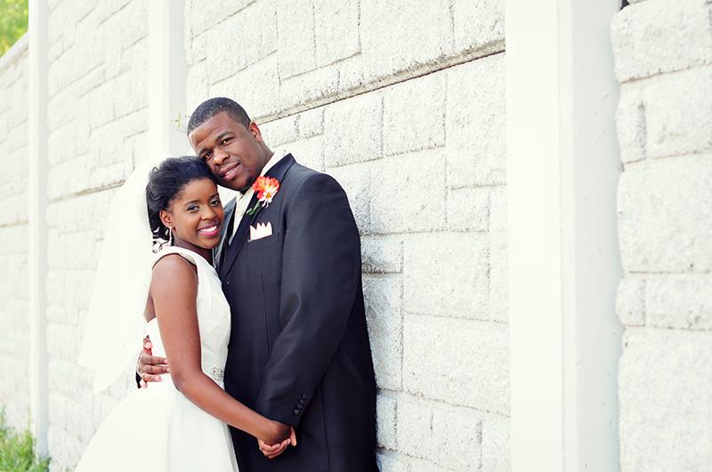 dayton wedding portrait