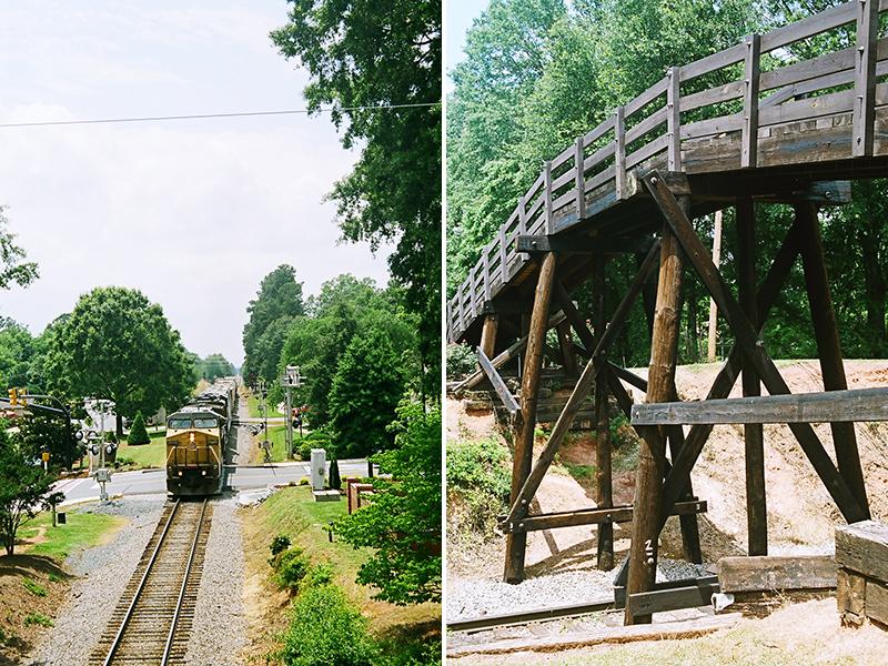 waxhaw train tracks