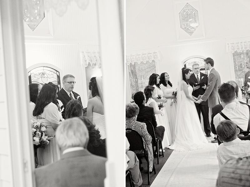 dayton intimate wedding photography