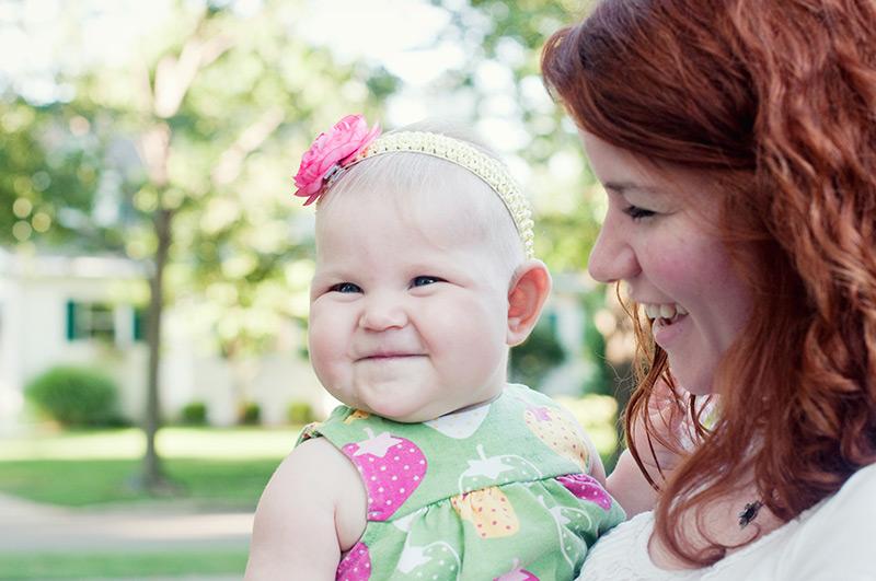 dayton ohio baby photographer