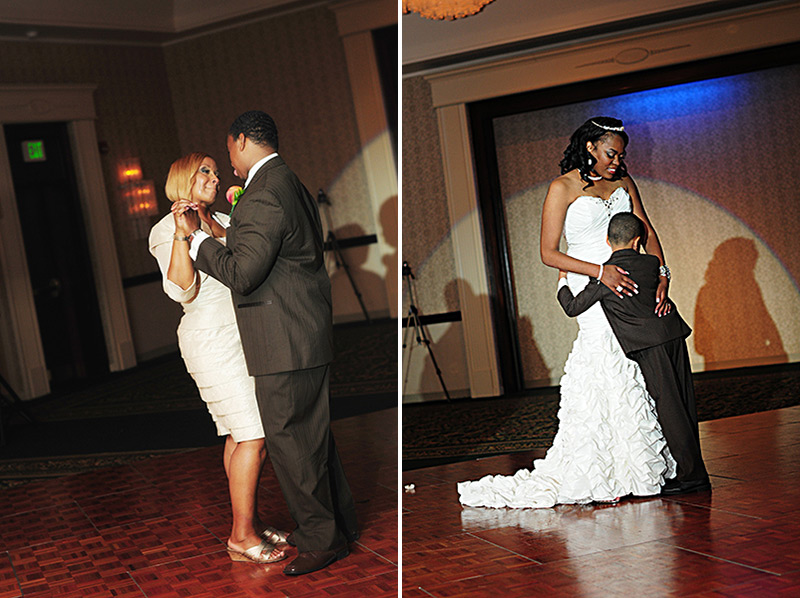 dayton marriott wedding dancing