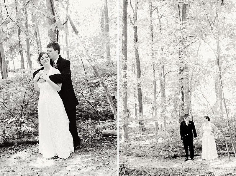 bridal portraits at hills and dales metropark