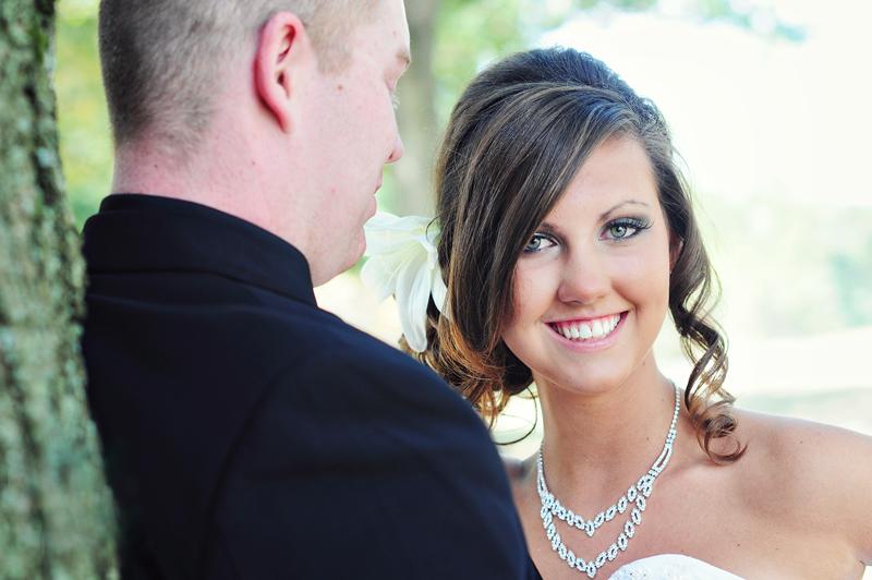 wedding at cox arboretum