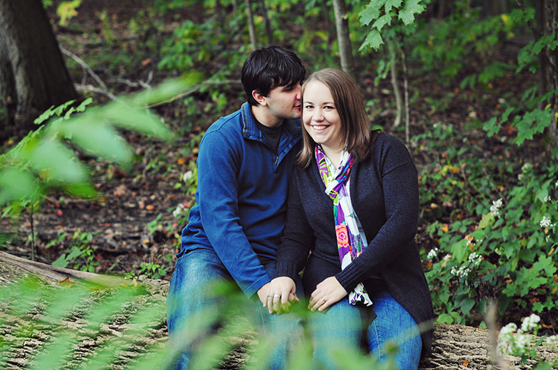 cute engagement photography in dayton