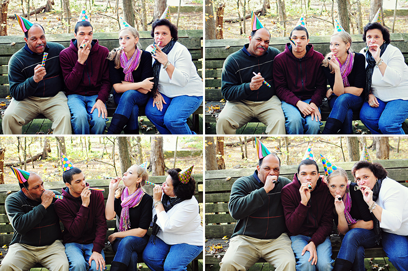 creative family pictures in dayton